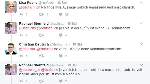 Schluss mit Freundschaft nach SPÖ-Debakel in Graz (Bild: twitter.com)