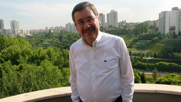 Ankaras Bürgermeister Melih Gökcek (Bild: AFP)