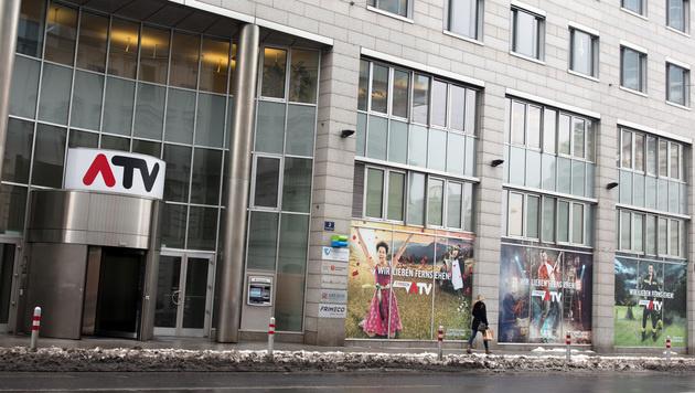 Das ATV-Gebäude in Wien (Bild: APA/GEORG HOCHMUTH)