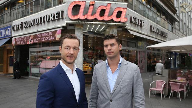 Jux-Demos sind ÖVP-Wien-Chef Gernot Blümel und Aida-Chef Dominik Prousek ein Dorn im Auge. (Bild: zwefo)