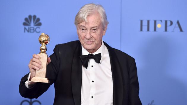 Paul Verhoeven bei den Golden Globes (Bild: Alberto E. Rodriguez/Getty Images/AFP)