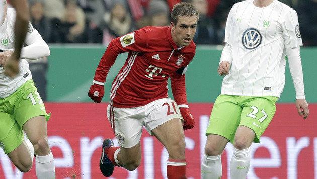 Bayern-Star Philipp Lahm beendet seine Karriere! (Bild: AP)