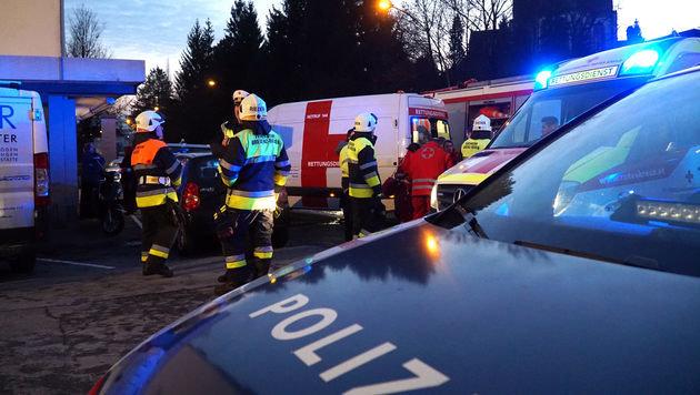 Bregenz: 65-Jährige erstochen, danach Brand gelegt (Bild: Maurice Shourot)