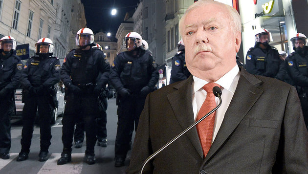 "Michael Häupl beschert die Demo-Debatte ""Bauchweh"" (Bild: APA/HANS KLAUS TECHT, APA/HERBERT P. OCZERET)"