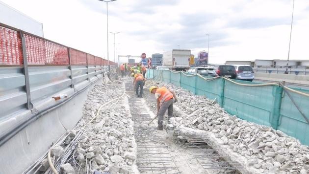 Praterbrücke: Bei Sanierung explodieren die Kosten (Bild: Asfinag)