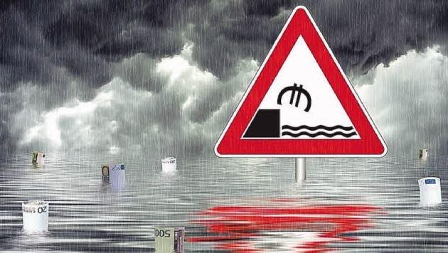 Der Barclays-Swap 2 der Stadt befand sich stark im Minus, am Ende war er 4 Millionen unter Wasser. (Bild: Grafik)