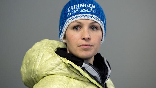 Rekordchamp Neuner für härtere Dopingstrafen (Bild: AFP)