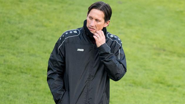 Roger Schmidt bei Bayer Leverkusen vor dem Aus? (Bild: AFP)