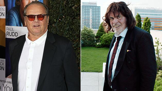 """Jack Nicholson soll in die Rolle von Peter Simonischek in """"Toni Erdmann"""" schlüpfen. (Bild: AFP, AP)"""