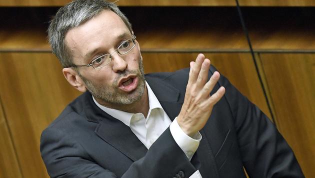 FPÖ-Generalsekretär Herbert Kickl (Bild: APA/Robert Jäger)
