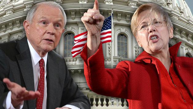 Eklat im US-Kongress: Redeverbot für Demokratin (Bild: AFP, thinkstockphotos.de)