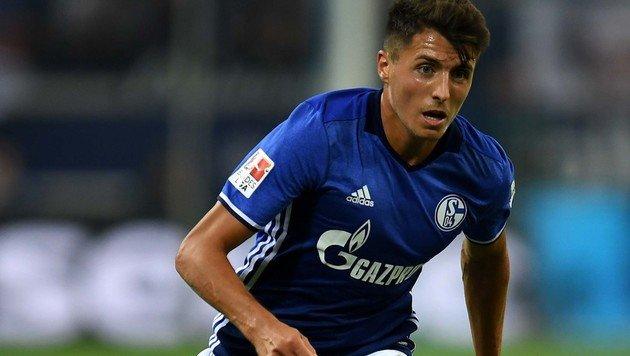 Schöpf-Tor bei Schalke-Aufstieg ins Viertelfinale (Bild: AFP)