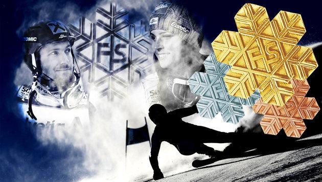 Ski-WM: Medaillenspiegel + Rennprogramm (Bild: GEPA pictures)