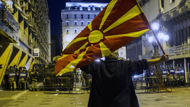 """US-Politiker: """"Mazedonien abschaffen & aufteilen"""" (Bild: AFP)"""