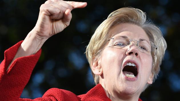 Die demokratische Senatorin Elizabeth Warren (Bild: AFP)