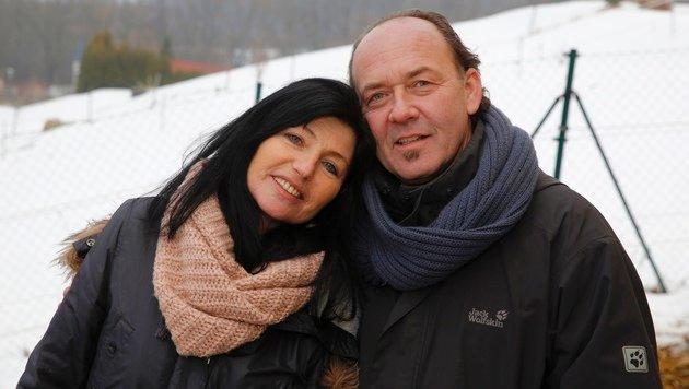 Gabi mit ihrem Mann Manfred (Bild: Martin A. Jöchl)