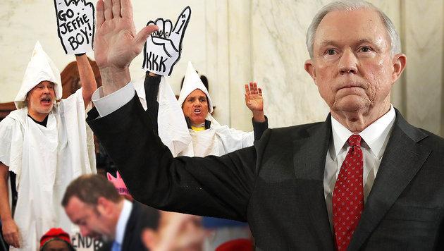 Erzkonservativer Hardliner wird US-Justizminister (Bild: AFP, AP)