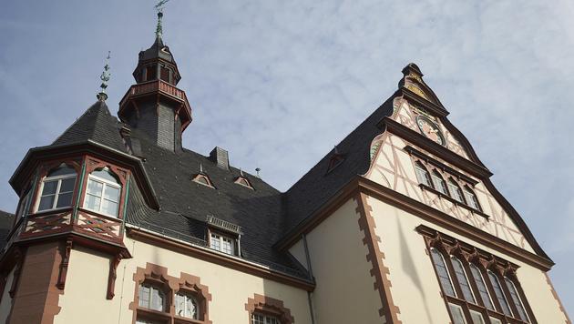 Das Rathaus von Limburg in Hessen (Bild: AP)