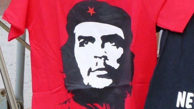 """Der Mann auf dem T-Shirt: """"Reise des jungen Che"""" (Bild: flickr.com/metropolico.org)"""