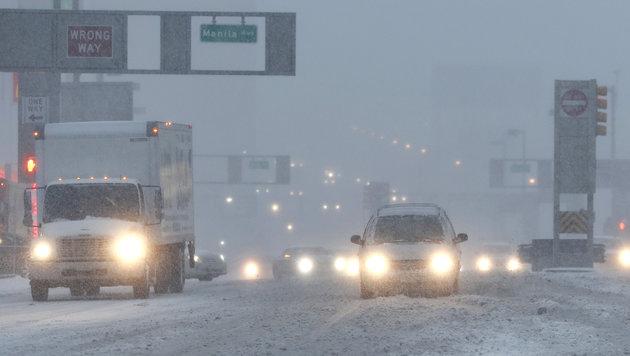 Gewaltiger Wintersturm trifft Nordosten der USA (Bild: Associated Press)