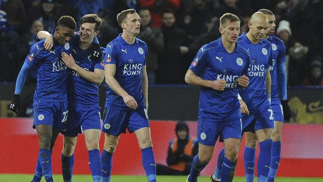 Leicester schrammt an FA-Cup-Blamage vorbei (Bild: AP)