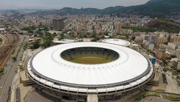 Marodes Maracana-Stadion soll verkauft werden (Bild: AFP)