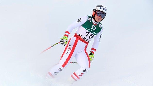 Siebenhofer holt dritten Abfahrts-Startplatz (Bild: AFP)