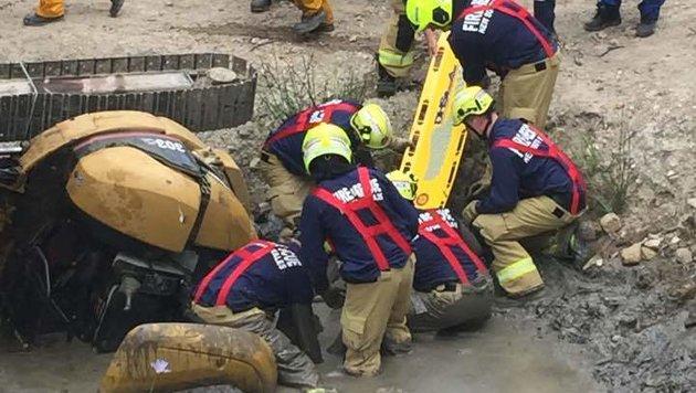 Australier überlebte fünf Stunden in Schlammloch (Bild: facebook.com)