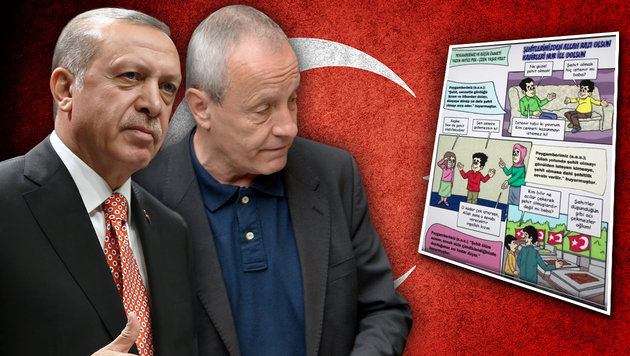"""Wie Erdogan Österreich als """"Brückenkopf"""" nutzt (Bild: APA/ROLAND SCHLAGER, AP, thinkstockphotos.de, Grüne)"""