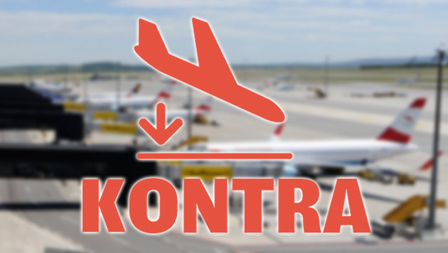 """Keine 3. Piste: Urteil sorgt für Turbulenzen (Bild: APA/HELMUT FOHRINGER, """"Krone""""-Grafik)"""