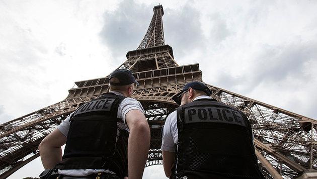 Kugelsicheres Glas soll Eiffelturm schützen (Bild: Associated Press)