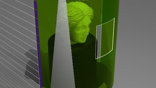Linzer Forscher entwickeln flexiblen 3D-Sensor (Bild: JKU)