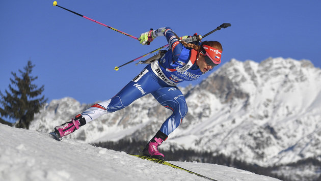 Tschechin Koukalova holt Sprint-Gold ++ Hauser 23. (Bild: Associated Press)