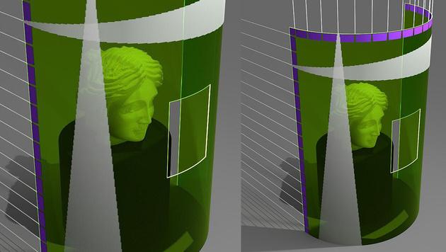 Linzer Forscher entwickeln flexiblen 3D-Sensor (Bild: JKU, krone.at-Grafik)