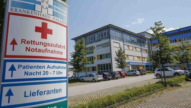 Das Krankenhaus in Hallein (Bild: MARKUS TSCHEPP)