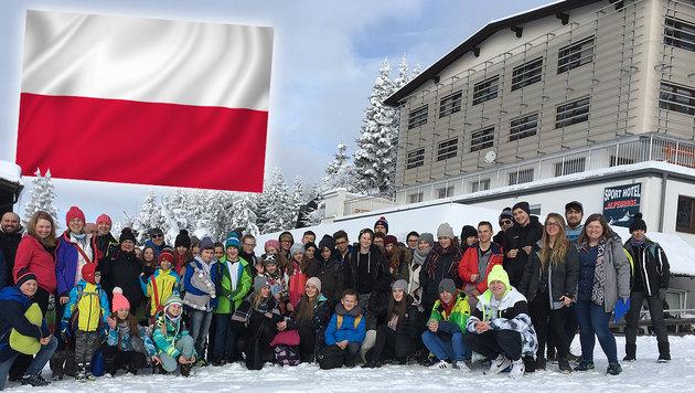 """Die """"Ski-Kolonien"""" bei uns in Österreich (Bild: thinkstockphotos.de, Alexander Schwab)"""