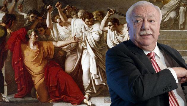 Häupl vergleicht interne Kritiker mit Caesarmörder (Bild: APA/HANS KLAUS TECHT, Vincenzo Camuccini)