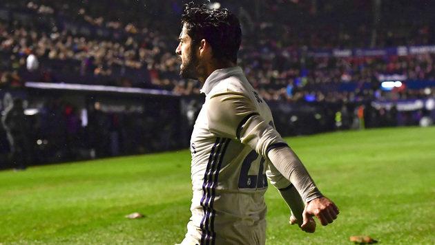 Real bleibt nach 3:1 bei Osasuna an der Spitze (Bild: AP)