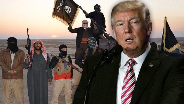 So spielt Trumps Politik dem IS in die Hände (Bild: APA/AFP/ALEX WONG, AFP)