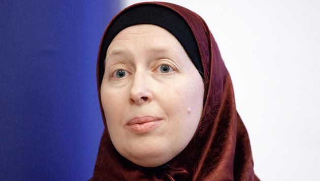 Die Frauenbeauftragte der Islamischen Glaubensgemeinschaft in Österreich, Carla Amina Baghajati (Bild: APA/GEORG HOCHMUTH)