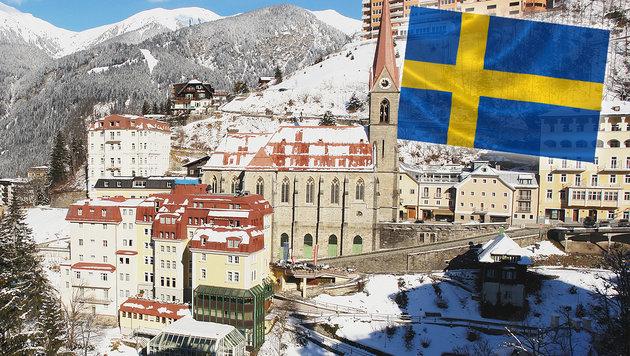 """Die """"Ski-Kolonien"""" bei uns in Österreich (Bild: thinkstockphotos.de)"""
