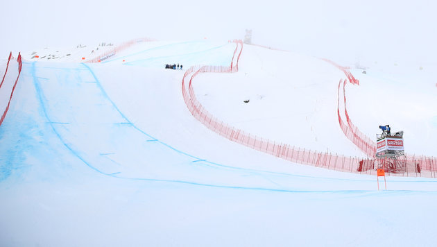 WM-Abfahrt abgesagt: Nebel als Spielverderber! (Bild: GEPA)