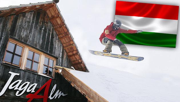 """Die """"Ski-Kolonien"""" bei uns in Österreich (Bild: thinkstockphotos.de, Sepp Pail)"""