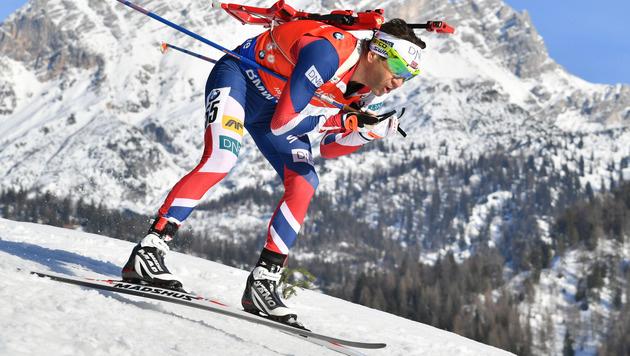 43-jähriger Björndalen holt sensationell WM-Bronze (Bild: APA/BARBARA GINDL)