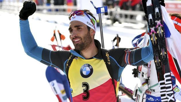 43-jähriger Björndalen holt sensationell WM-Bronze (Bild: AP)