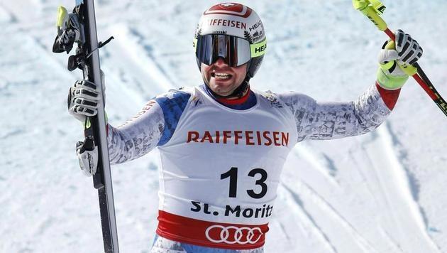 Max Franz lässt Österreich mit Bronze jubeln! (Bild: APA/EXPA/JOHANN GRODER)
