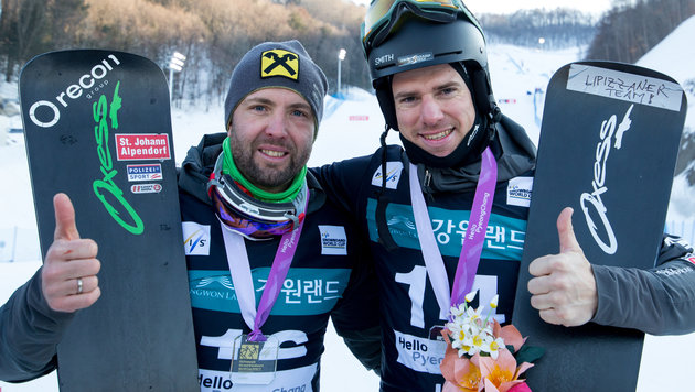 """""""Großartig!"""" Doppelsieg für Snowboard-Herren (Bild: GEPA)"""