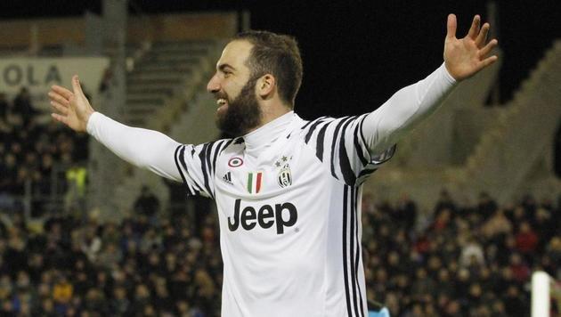 Higuain schießt Juventus zu Pflichtsieg (Bild: ANSA)