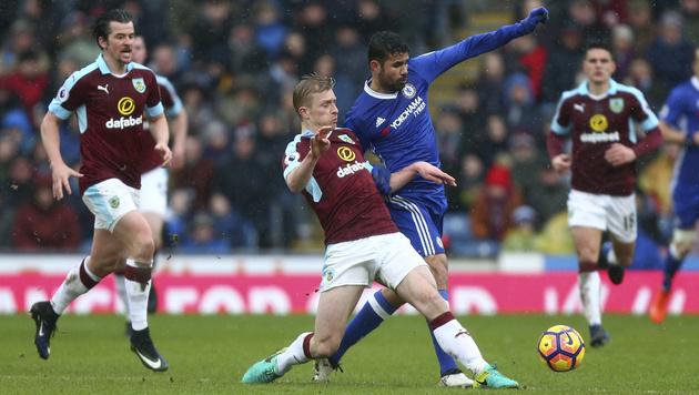 Nur 1:1! Chelsea-Ausrutscher gegen Burnley (Bild: AP)