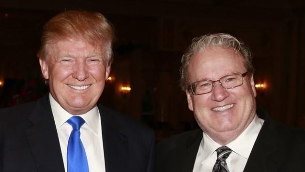Gute Freunde: US-Präsident Donald Trump und der Industrielle Patrick Park
